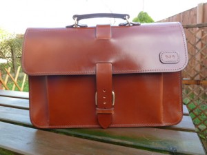 Briefcase Satchel Backpack Combo