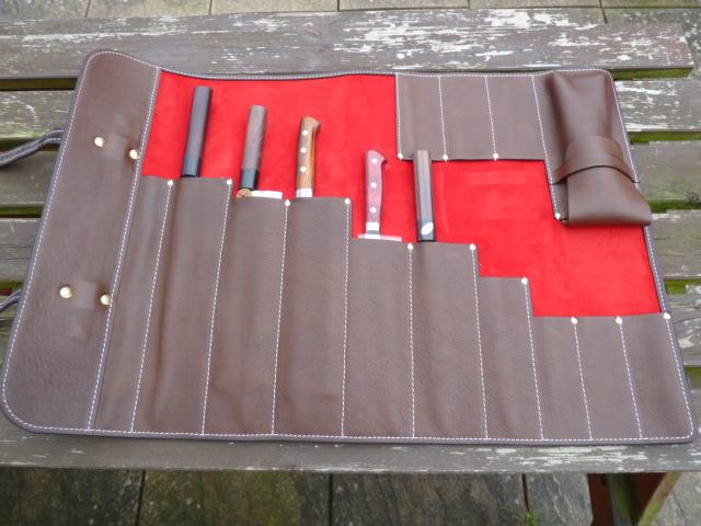 chef 39 s knife roll hrothgar stibbon. Black Bedroom Furniture Sets. Home Design Ideas